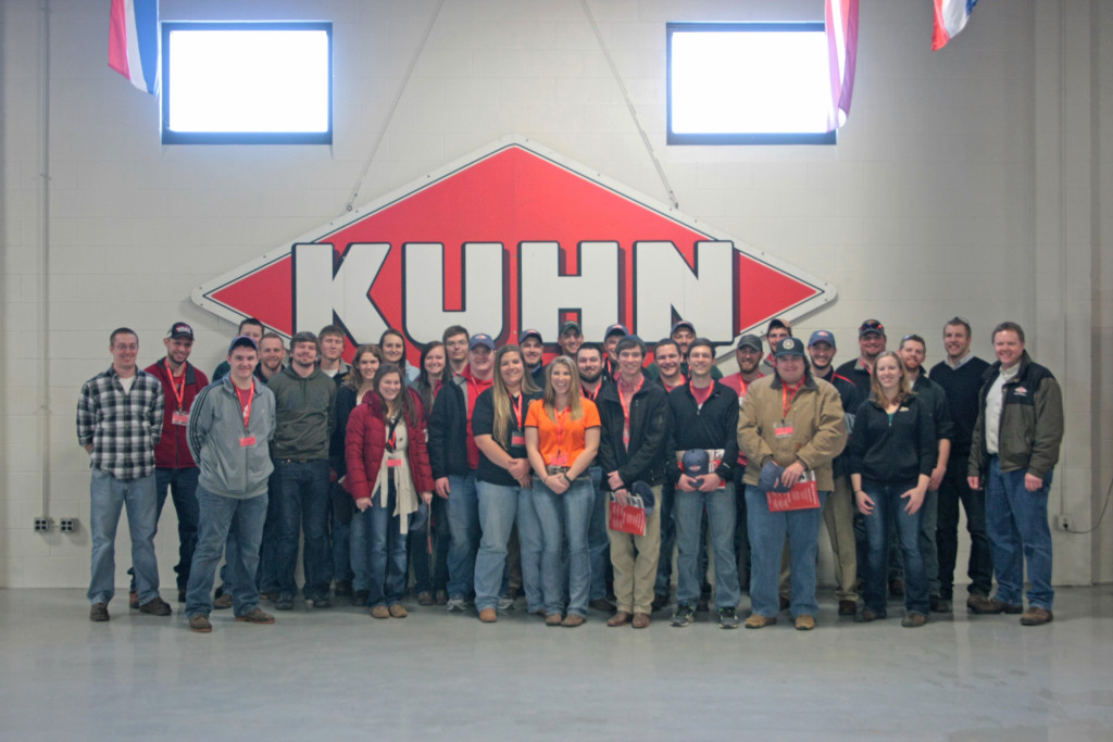 Touring Kuhn North America during Midwest Regional Rally.
