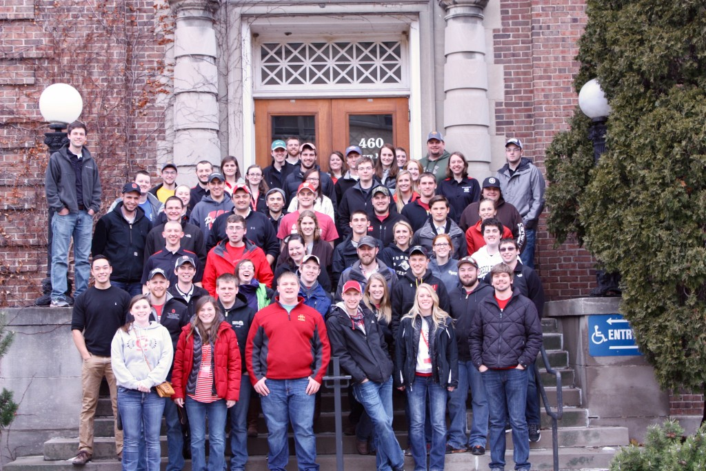 Students from similar programs around the Midwest met for Midwest Regional Rally.